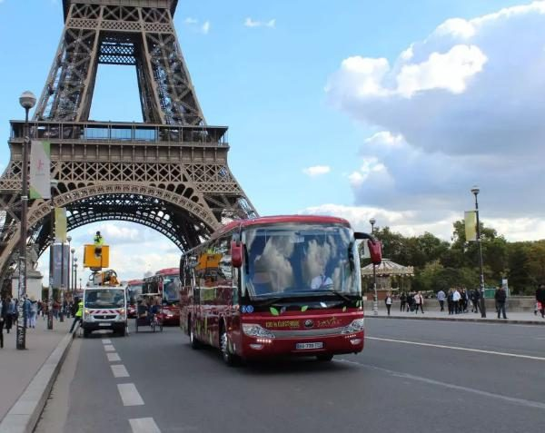 Europe's First Pure Electric Intercity Line Opened, Yutong Pure Electric Bus Entering Provence