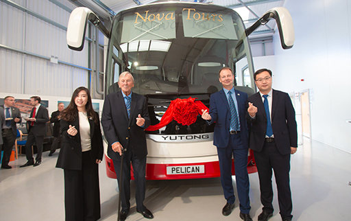Breakthrough from 0 to 500! Yutong Bus Exports to the UK Reaching a New Height