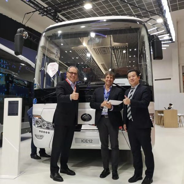 The First in Venice! Yutong Assists Venice in Releasing A Zero Breakthrough in Electric Buses